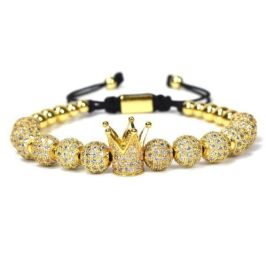 mens bracelets palatial collection gold