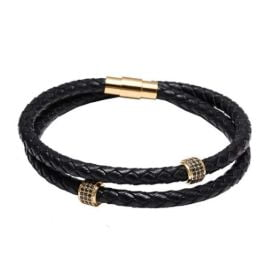 mens bracelets leather collectiom
