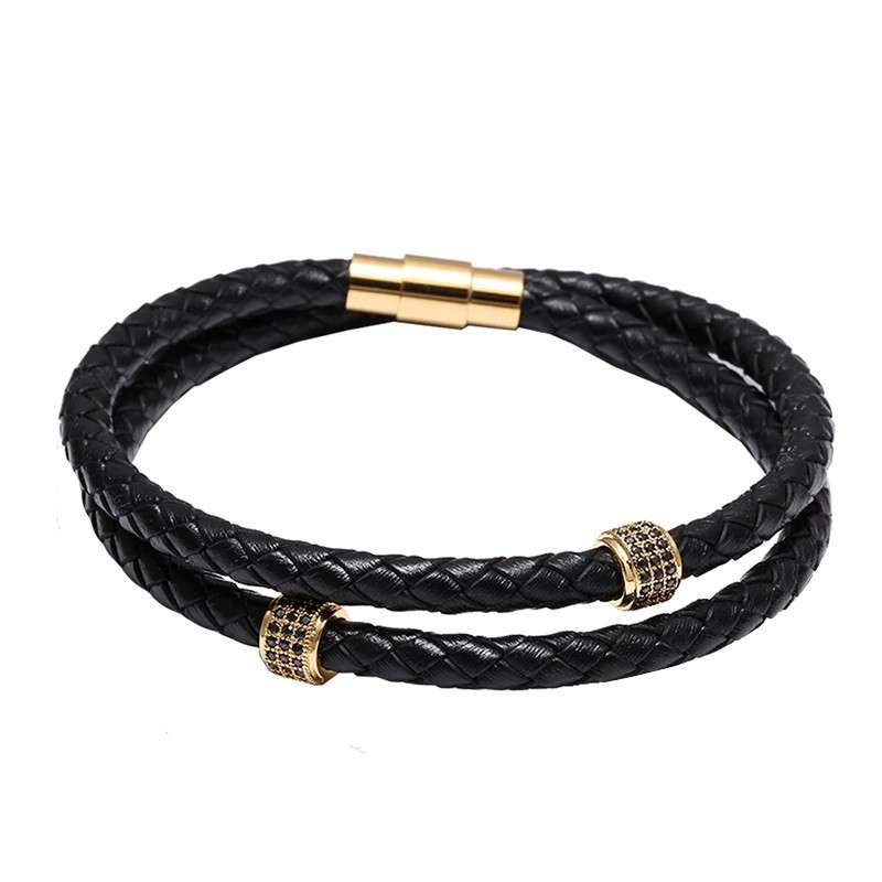 leather bracelets for men collection