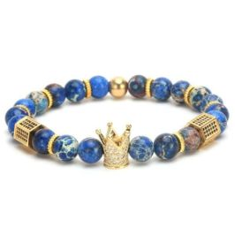 mens bracelets palatial collection crown