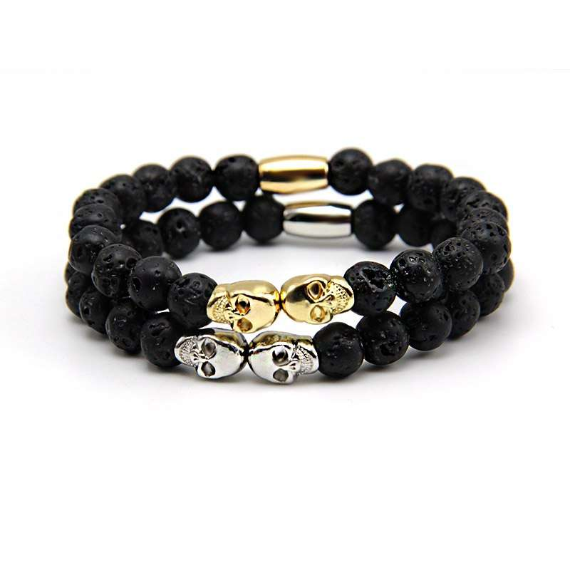 Men's Bracelets Muerta Collection Skulls