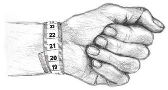 Bracelets Measurement Wrist